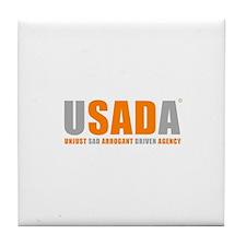 USADA Tile Coaster