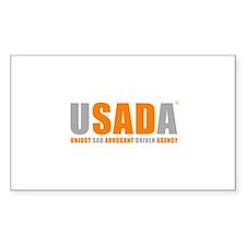 USADA Decal