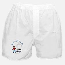 Ski Lift Girl Boxer Shorts