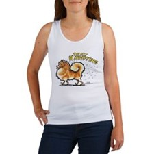 Pomeranian Hairifying Women's Tank Top
