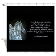 Legend of the Horse Shower Curtain