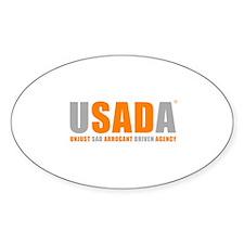 USADA UNJUST Decal
