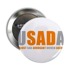 "USADA UNJUST 2.25"" Button"