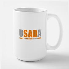 USADA UNJUST Large Mug