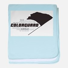 Color Guard baby blanket