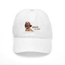 Bring It On Dachshund Baseball Cap