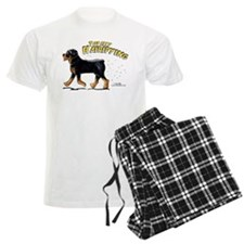 Rottweiler Hairifying Pajamas
