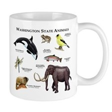 Washington State Animals Mug