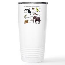 Washington State Animals Travel Mug