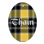 Tartan - Thain Ornament (Oval)