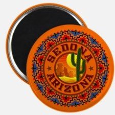 Sedona Desert Circle Magnet