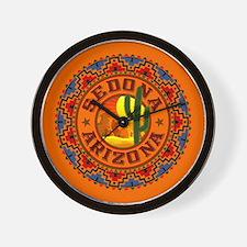 Sedona Desert Circle Wall Clock