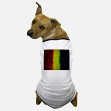 mellow ice gold and green abstract Dog T-Shirt