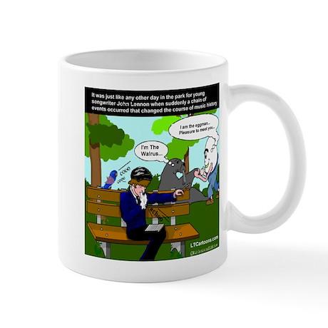 John Lennon Gets Inspired Mug
