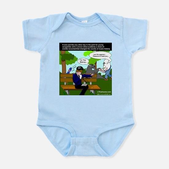 John Lennon Gets Inspired Infant Bodysuit