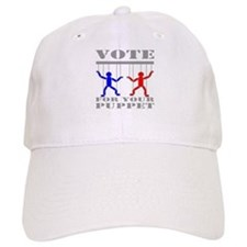 Vote For Your Puppet Baseball Cap
