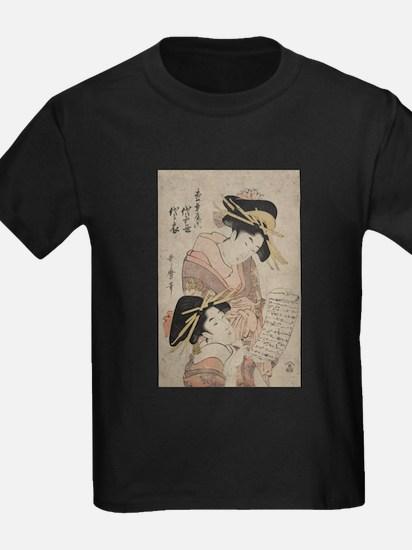 The courtesans Yoyotose and Yoyoginu of the Matsub