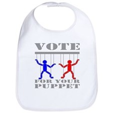 Vote For Your Puppet Bib