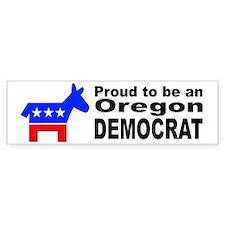 Oregon Democrat Pride Bumper Sticker