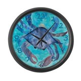 Crab Wall Clocks