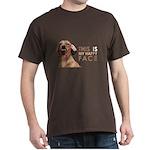Happy Face Dachshund Dark T-Shirt