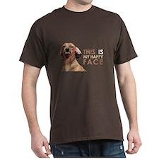 Happy Face Dachshund T-Shirt