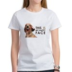Happy Face Dachshund Women's T-Shirt