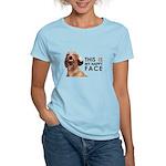 Happy Face Dachshund Women's Light T-Shirt