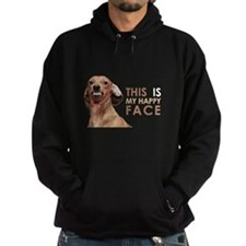 Happy Face Dachshund Hoodie