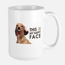 Happy Face Dachshund Mug