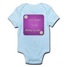 Event Planner by day Mommy by night Infant Bodysui