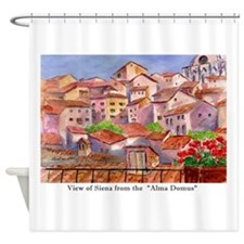 Remember Italy Shower Curtain