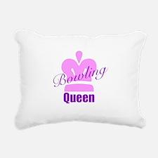 Bowling Queen Rectangular Canvas Pillow