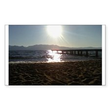 Beautiful Tahoe Beach Decal
