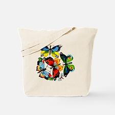 Flock Of Butterflies Tote Bag
