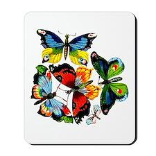 Flock Of Butterflies Mousepad