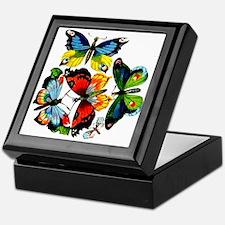 Flock Of Butterflies Keepsake Box