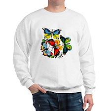 Flock Of Butterflies Sweatshirt