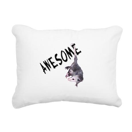 possum32b.png Rectangular Canvas Pillow