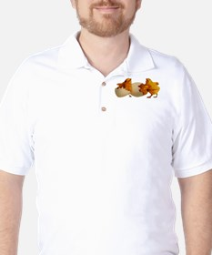 Baby chicks (Front only) Golf Shirt