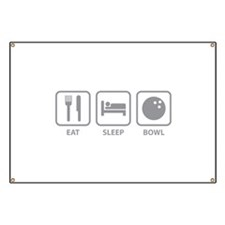 Eat Sleep Bowl Banner