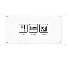 Eat Sleep Climb Banner