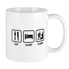 Eat Sleep Climb Small Mugs
