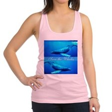 whales4.png Racerback Tank Top