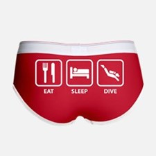 Eat Sleep Dive Women's Boy Brief