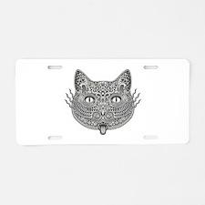 IntriCat Aluminum License Plate