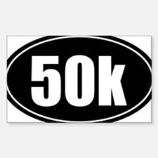 50k 31.1 black oval sticker decal Decal