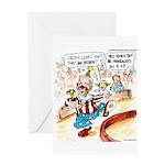Joe Biden Circus Act Greeting Card