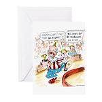 Joe Biden Circus Act Greeting Cards (Pk of 10)