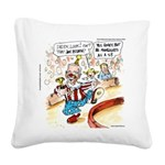 Joe Biden Circus Act Square Canvas Pillow